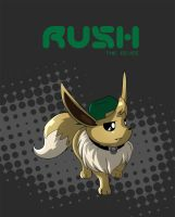 Rush the Eevee by super-tuler