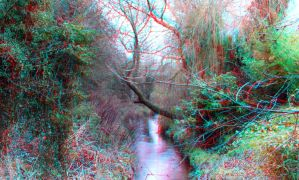 Brookside Anaglyph 3D by zentron