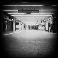 Empty Metro by aeNurMCMXC