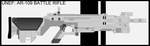 UNEF - Battle Rifle Concept - WIP - update 12/6/15 by Jon-Michael-May