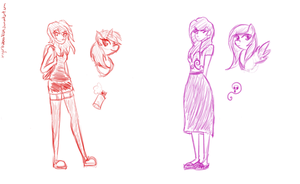 Graffiti and Noroi doodles by tigerbabes1029