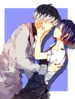 Haise x Touka by Black-chappy