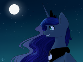 Luna redraw by Twistare