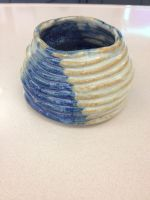 Miniature Coil Vase by Wootzie14