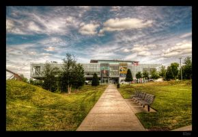 Clinton's Library HDR II by joelht74