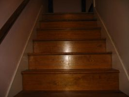 my stairs are also dark... by LuckyStock