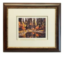 Fall Colors Matted and Framed by Joe-Lynn-Design