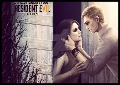 Mia and Ethan-Resident evil 7 by ainelovia