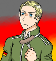 Hetalia - Germany by Duelistabbeyryou