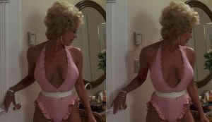 3d Busty Leslie Easterbrook Pinstripe 1 by 3dpinup