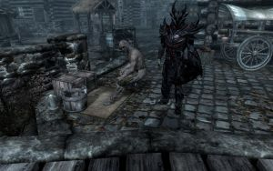 The magical hobo siting 2 Skyrim by Annatiger1234