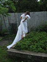 Wedding dress 2 by 3corpses-in-A-casket