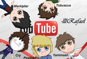 ..:Awesome Youtubers:.. by lllRafaelyay