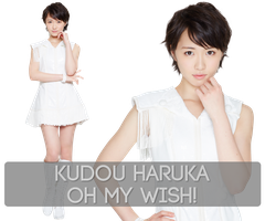 Kudou Haruka - Oh my wish! PNG Render Set by Supadackles