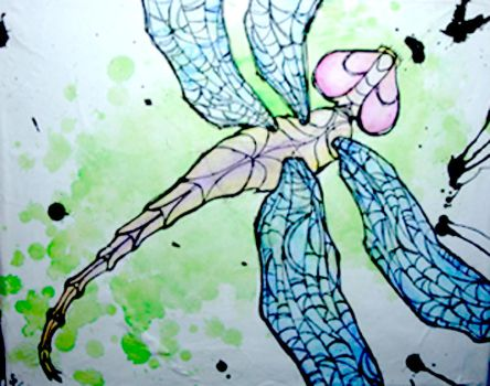 inked series: dragonfly by SeantheArtist
