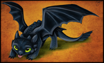 Toothless by Evvy