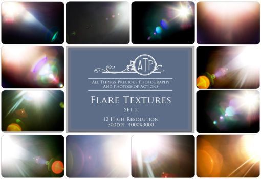 Flare Textures SET 2 by AllThingsPrecious