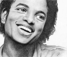Michael Jackson - Smile by drawingyourattention