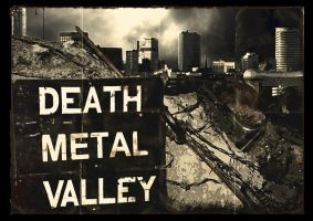 Death Metal Valley by Matt-Walton-Design