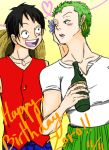 Happy Birthday Zoro! by LuvSilverSonicShadow