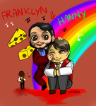 Chibi Hannibal - Franklyn tribute by FuriarossaAndMimma