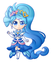 Princess of the Crystal Clear Seas: Cure Mermaid! by Snow-Songstress