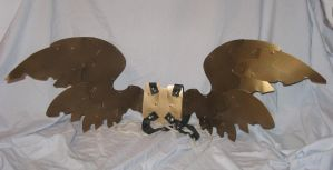 Steampunk Wings So Ah Can Fly by Kziki