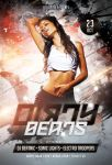 Dirty Beats Flyer by styleWish