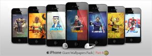 Giant Pack of iPhone Walls - Part 4 by WalidGFX