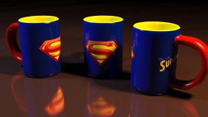 Caneca do Superman by ianehdkr
