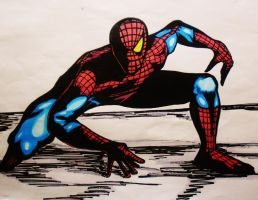 Amazing Spider-man by DustyPaintbrush