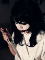 Jeff the killer cosplay- wanna play? by haozeke93