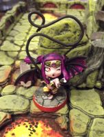 Vandella, Chibi Succubus (Super Dungeon Explore) by JordanGreywolf
