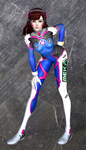 Dva, ONE. Bad guys, ZERO. by dnxpunk