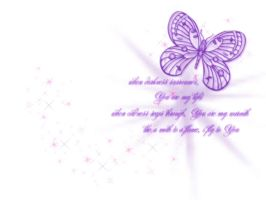 Butterfly Wallpaper by faegirl16