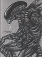 Tribute to Giger by brigebane