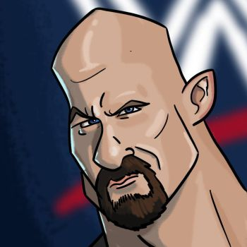 Stone Cold Caricature by WesleyRiot