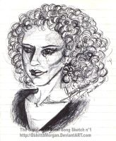 .:: The Wedding of River Song ::. Sketch 1 by GabittaMorgan