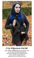 Autumn Gothic Lady Stock 003 by MADmoiselleMeliStock