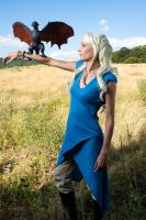 Dany and Drogon by Lulu-cosplay