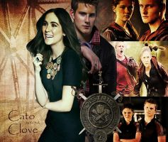 Cato and Clove - District 2 by YaShA94