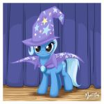 Trixie on Stage by mysticalpha