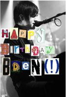 Happy Bday Bden :I LOVE YOU: by PanicxFOBx4Everx