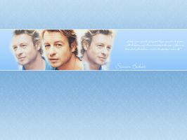 Simon Baker Wallpaper2 by missaune