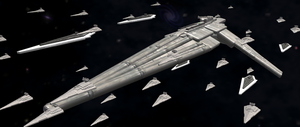 Spore: Imperial Fleet by Cyrannian