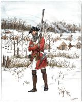 38th Regiment of Foot, 1779 by OrlopRat