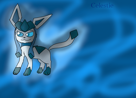 Celestie the Glaceon by Featherpool101