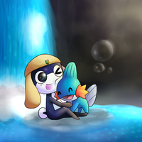 Tamama And Mudkip by CleverConflict