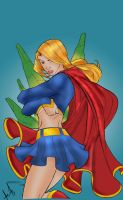 Supergirl by Carlo Barberi by Blindman-CB