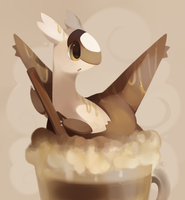 Cafe Latteas by HappyCrumble